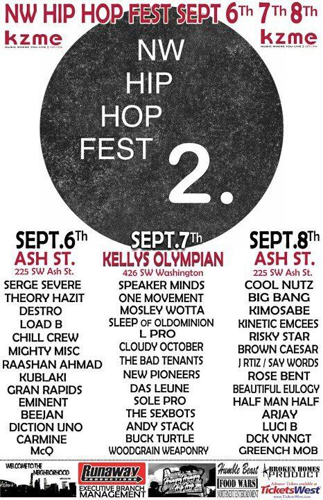 NW Hip Hop Fest