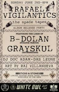 The Spade Tapes Album Release