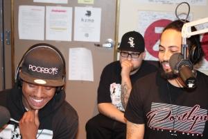 Stewart Villain, DJ Fatboy and Randall Wyatt in the Neighborhood