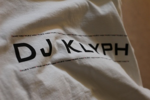 DJ Klyph logo tee 2